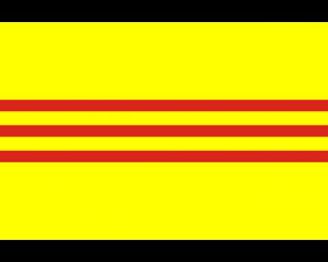 South Vietnam Flag - 3x5'