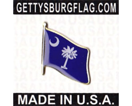 South Carolina State Flag Lapel Pin