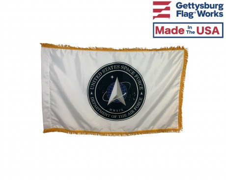 U.S. SPACE FORCE FLAG-INDOOR