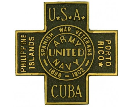 Spanish American War Grave Marker