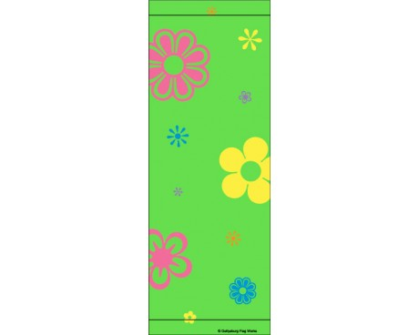 Spring Flowers Avenue Banner