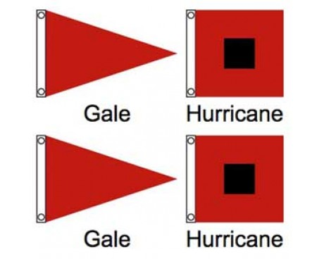 Storm Flag Warning Set