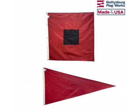 Storm Warning Flag Set
