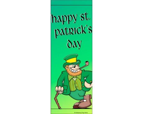 St. Patrick's Day Leprechaun Avenue Banner