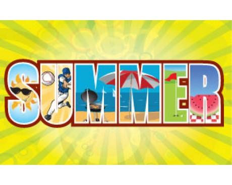 Summer Flag - 3x5'