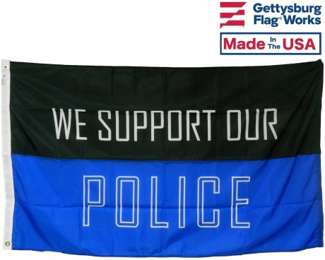 Support Our Police Flag