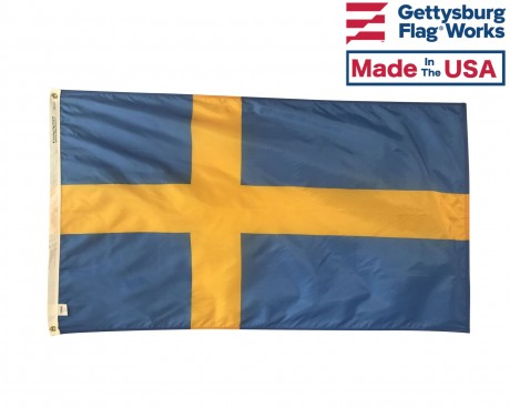 Sweden Flag, Indoor & Outdoor