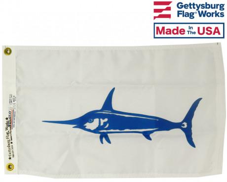 "Swordfish Flag - 12x18"""