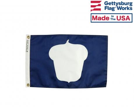 """12x18"""" Officer Boat Flag -  Treasurer"""