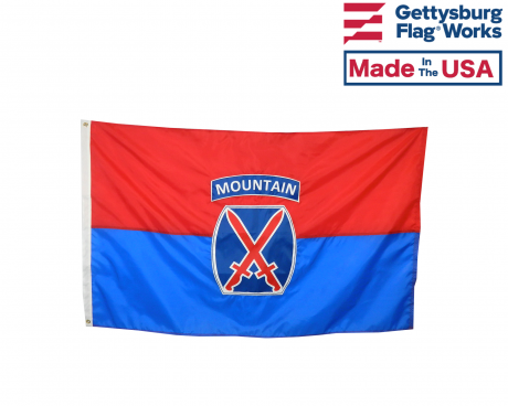 US Army 10th Mountain Division Flag - Choose Options