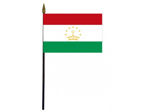 "Tajikistan Stick Flag - 4x6"""