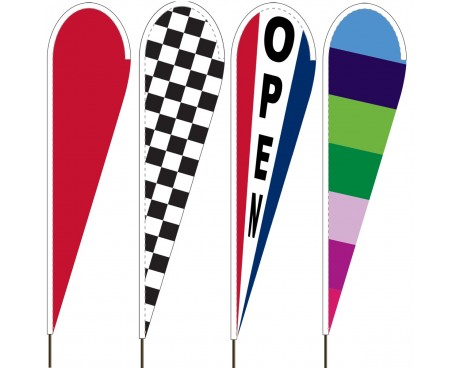 Teardrop Flags - Attention Banners
