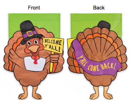 Thanksgiving Welcome House Banner