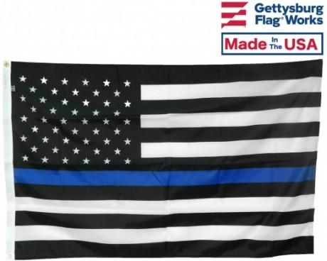 THIN BLUE LINE-USA DESIGN FLAG-CHOOSE OPTIONS