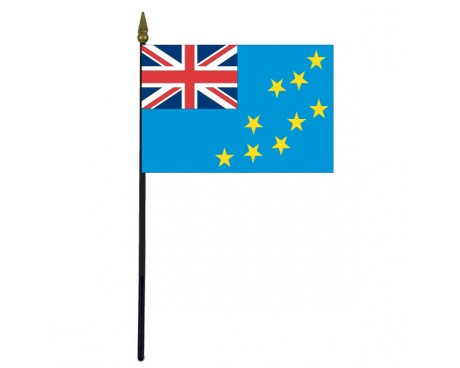 "Tuvalu Stick Flag - 4x6"""