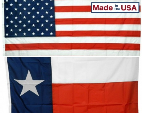 TEXAS & BATTLE-TOUGH® AMERICAN FLAG COMBO PACK