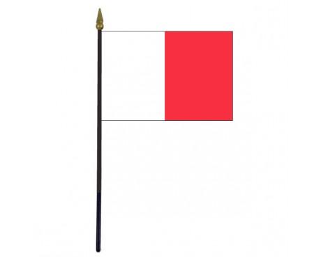 """Tyrone County Stick Flag (Ireland) - 4x6"""""""