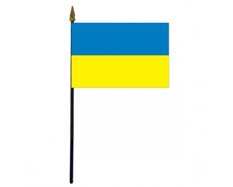 Ukraine Stick Flag