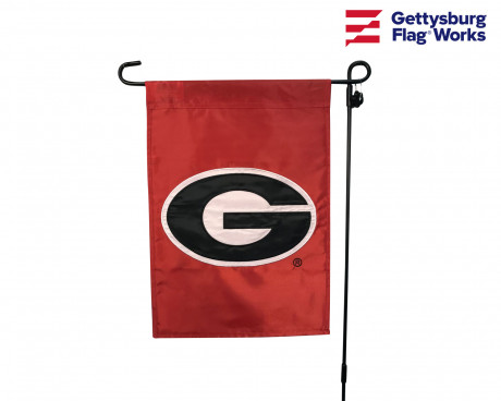 "GEORGIA Bulldogs Garden Flag - 12X18"" -CHOOSE OPTIONS"