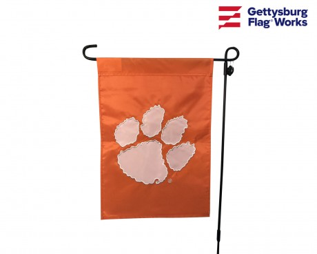 "Clemson Tigers Garden Flag - 12X18"" -CHOOSE OPTIONS"