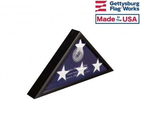 "Engraved Memorial Flag Case - ""Veteran Engraved"""