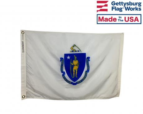 Massachusetts Flag - Outdoor