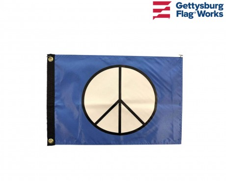 Peace Sign Boat Flag