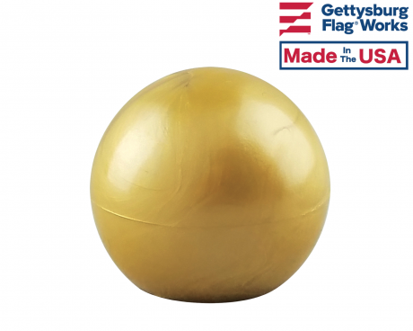 Plastic Ball Gold