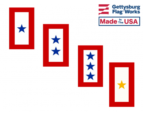 Service Star Decal Sticker - Choose Options
