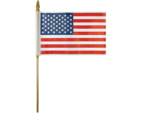 Plastic American Stick Flag
