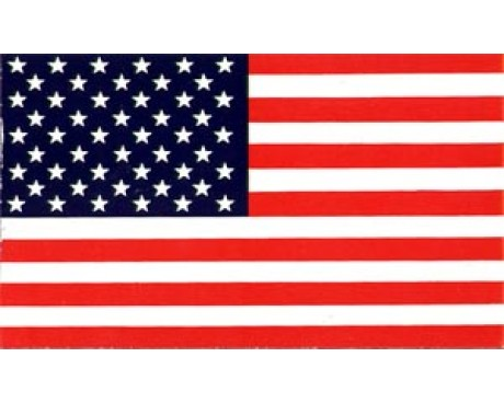 American Flag Sticker (Correct)