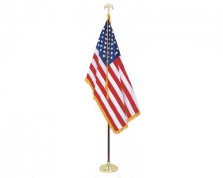 American Indoor Flag Set