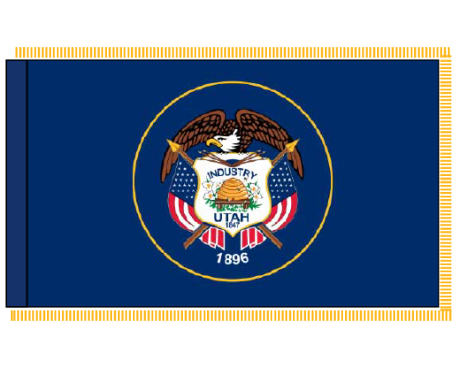 Utah Flag - Indoor