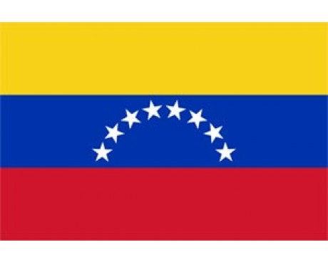 Venezuela Flag (No Seal) - 6x10' - Header & Grommets