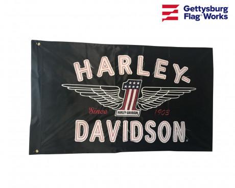 Harley Flag Front