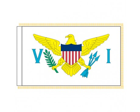 US Virgin Islands Flag - Indoor