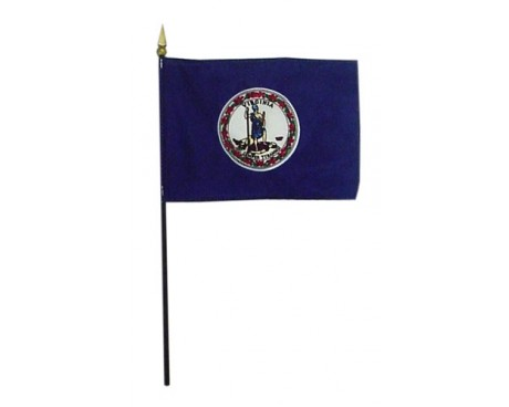 Virginia State Stick Flag