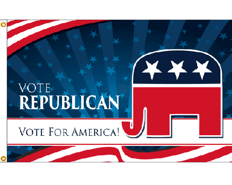 Vote Republican Flag - 3x5'