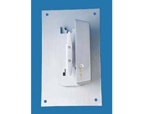 Cleat Cover Box, Wall Mounted with Lock