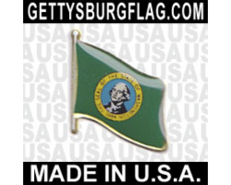 Washington State Flag Lapel Pin