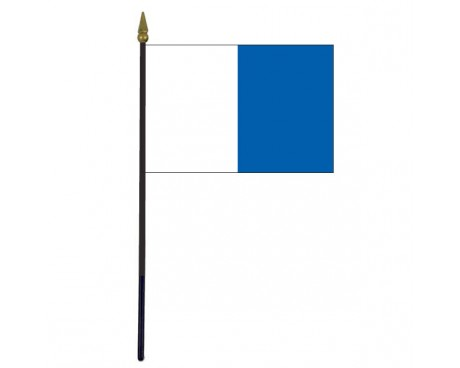 Waterford County Stick Flag (Ireland) - 4x6""