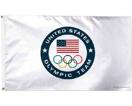 Olympics Team USA Flag