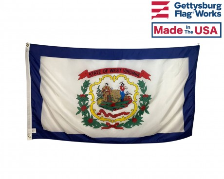 West Virginia Flag - Outdoor