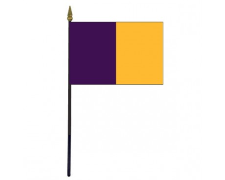 "Wexford County Stick Flag (Ireland) - 4x6"""