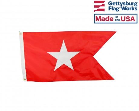 White Star Line Boat Flag