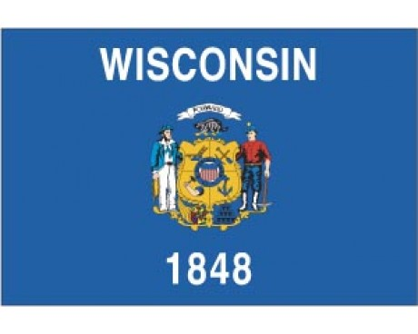 Wisconsin Reflective Sticker