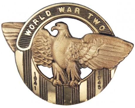WWII Bronze Grave Marker