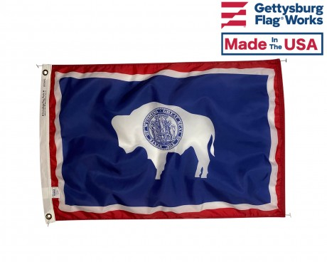 Wyoming Flag - Outdoor