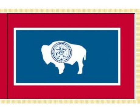 Wyoming Flag - Indoor