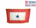 Service Star Flag (1 Blue Star)